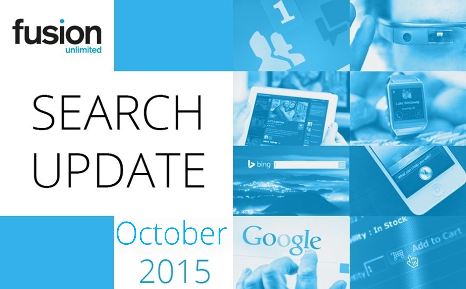 Oct - Market Updates