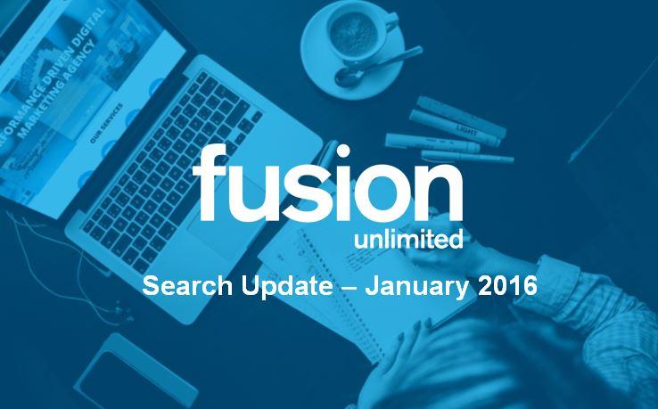 Jan 16 - Search Update
